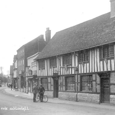 Henley in Arden.  Guildhall