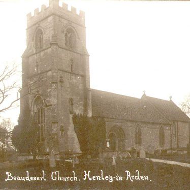 Beaudesert.  Church