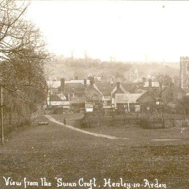 Henley in Arden.  View from Swan Croft