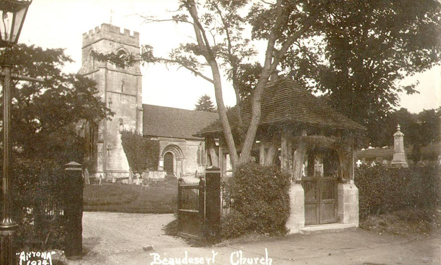 Beaudesert Church, Henley-in-Arden.  1920s |  IMAGE LOCATION: (Warwickshire County Record Office)