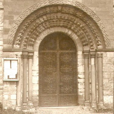 Beaudesert.  Church doorway