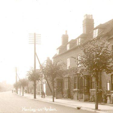 Henley in Arden.  Street scene