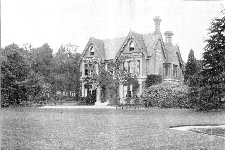 Nunhold Grange, Hatton.  From estate agents' papers, 1865-1914. |  IMAGE LOCATION: (Warwickshire County Record Office)