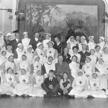 Henley in Arden.  Red Cross Hospital Staff