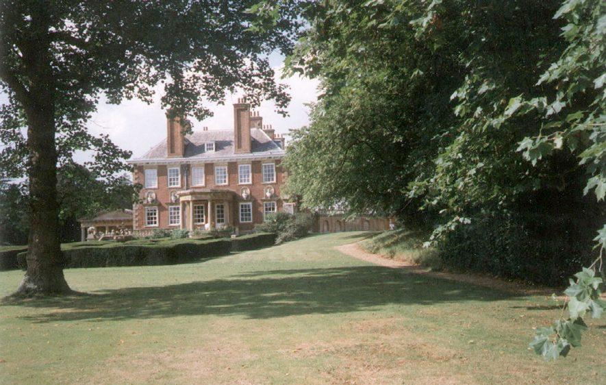 Honington Hall.  1997    IMAGE LOCATION: (Warwickshire County Record Office)