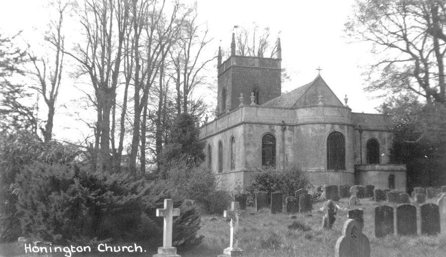 Church of All Saints, Honington.  1960 |  IMAGE LOCATION: (Warwickshire County Record Office)
