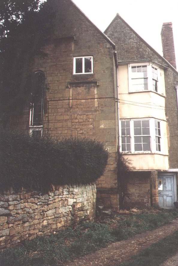 Exterior of part of Hill Farm house, Ilmington.  1987 |  IMAGE LOCATION: (Warwickshire County Record Office)