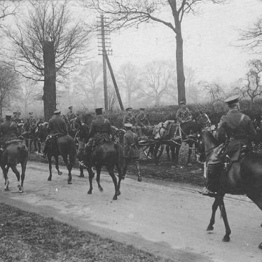 Dunchurch.  Cavalry