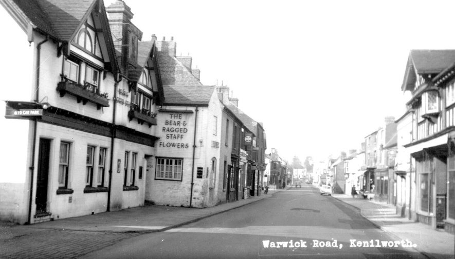 Warwick Road, Kenilworth.  1950 |  IMAGE LOCATION: (Warwickshire County Record Office)