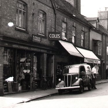 Kenilworth.  New Street, Coles Shop