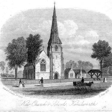Kenilworth.  St John's Parish Church