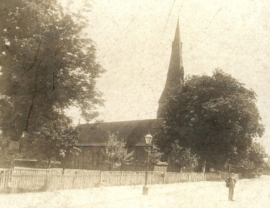 St John's Church, Kenilworth. 1900s |  IMAGE LOCATION: (Warwickshire County Record Office)