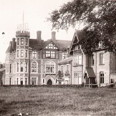 Kenilworth.  Abbey Hill and Hotel