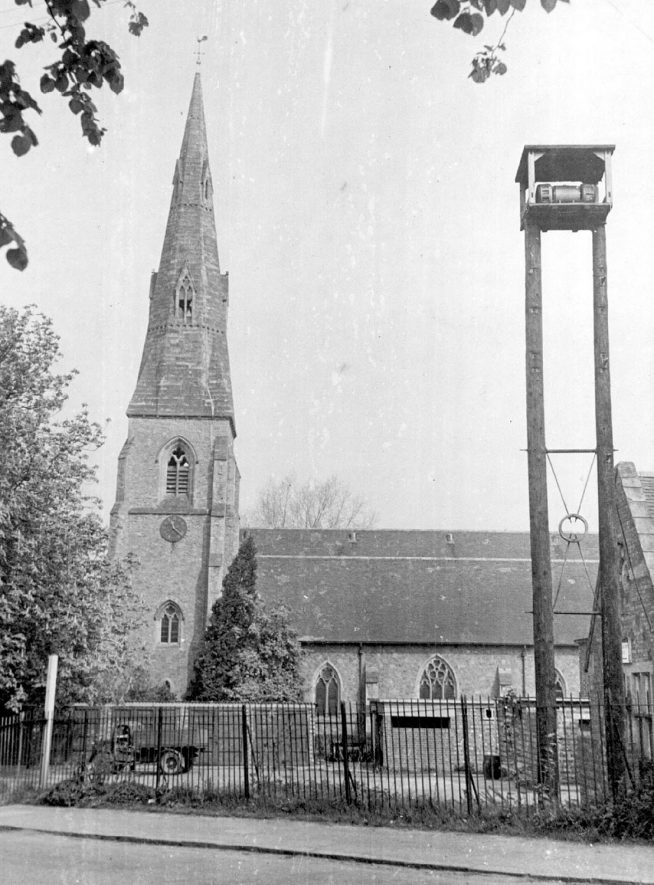 St John's Church, Kenilworth.  1947 |  IMAGE LOCATION: (Warwickshire County Record Office)