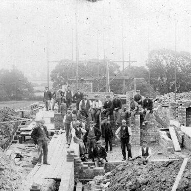 Dunchurch.  Building site