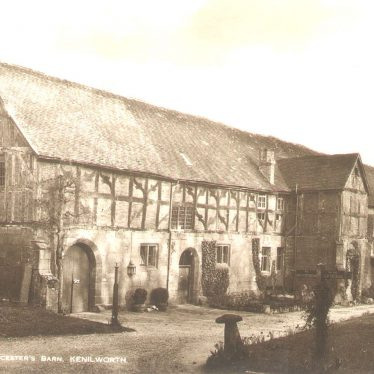 Kenilworth.  Lord Leicester's Barn