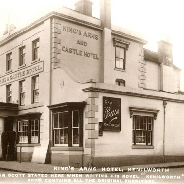 Kenilworth.  King's Arms & Castle Hotel