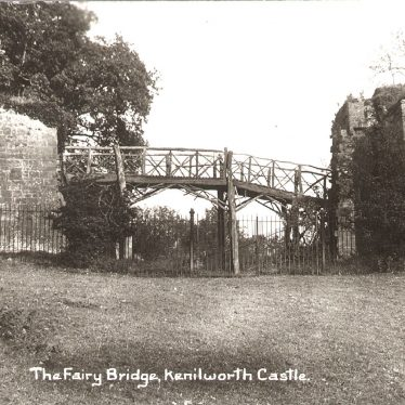 Kenilworth.  Fairy Bridge at The Castle