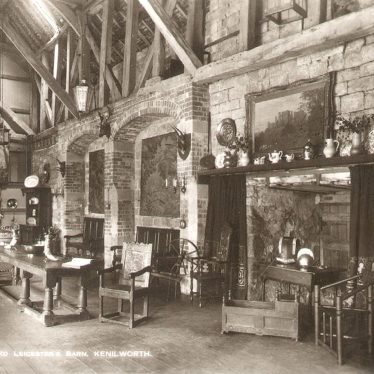 "Kenilworth.  ""The Alure"", Lord Leicester's Barn"