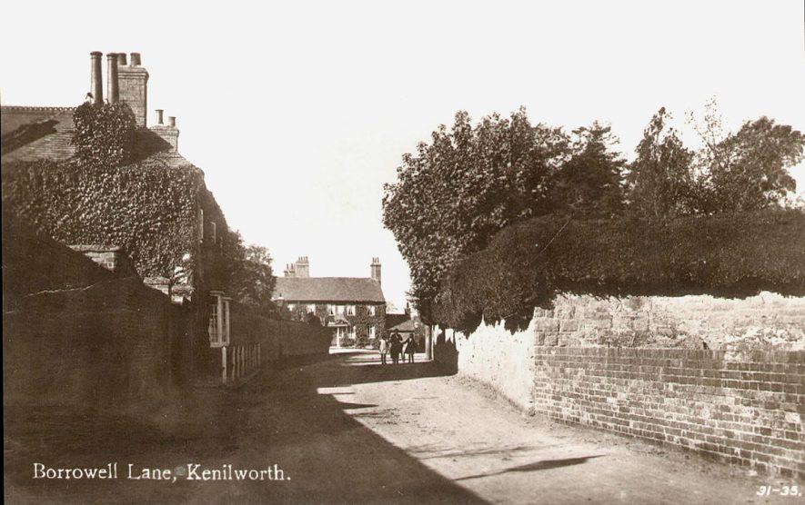 Borrowell Lane, Kenilworth.  1920s |  IMAGE LOCATION: (Warwickshire County Record Office)