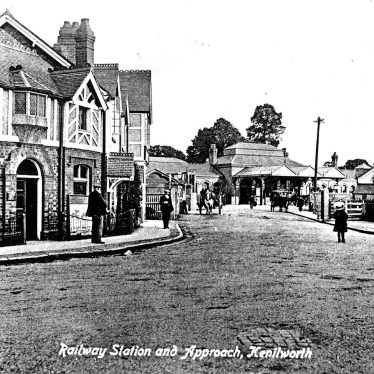 Kenilworth.  Railway Station and approach