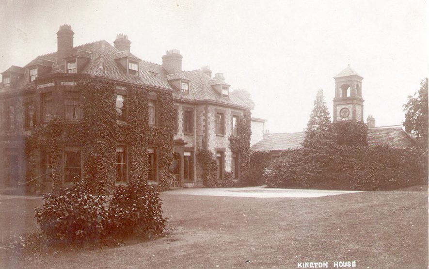Kineton House, Kineton.  1900s |  IMAGE LOCATION: (Warwickshire County Record Office)