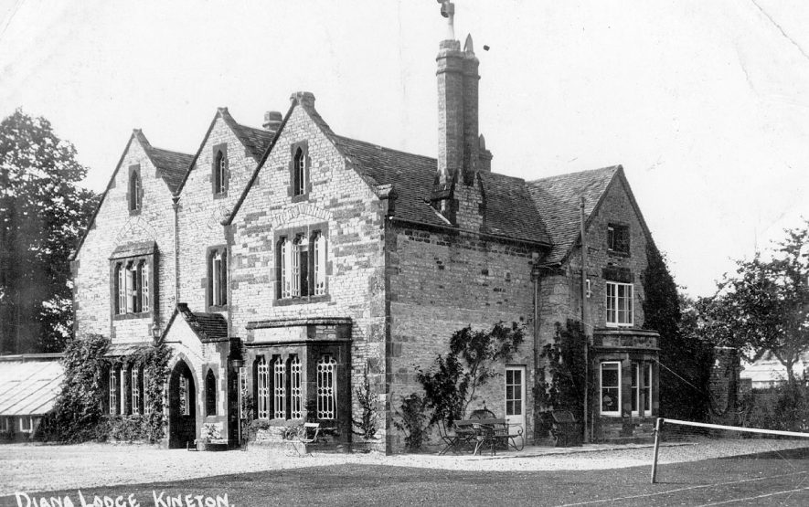 Diana Lodge, Kineton.  1910s |  IMAGE LOCATION: (Warwickshire County Record Office)