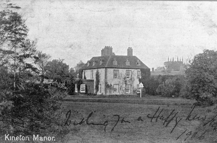 Manor House, Kineton.  1906 |  IMAGE LOCATION: (Warwickshire County Record Office)