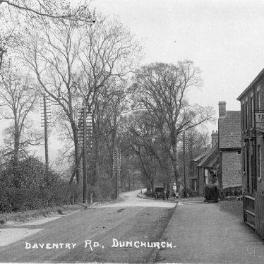 Dunchurch.  Daventry Road