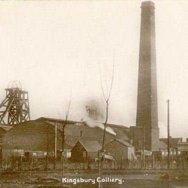 Kingsbury.  Colliery Buildings
