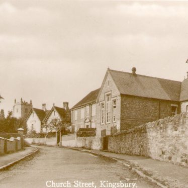 Kingsbury.  Church Street (now Lane)
