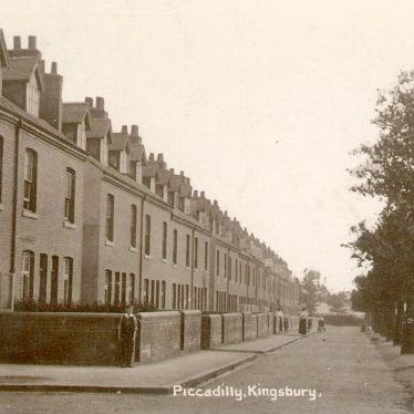Kingsbury.  Piccadilly