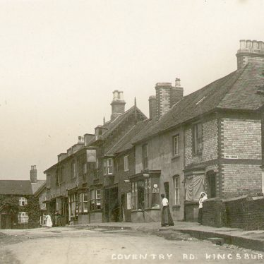 Kingsbury.  Coventry Road