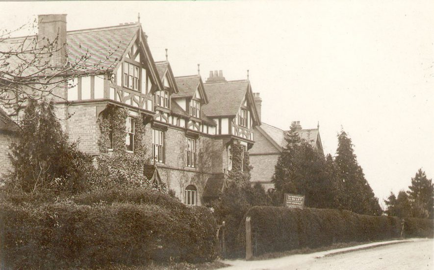 Warwick Road, Kingswood.  1910s |  IMAGE LOCATION: (Warwickshire County Record Office)