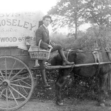 Kingswood.  Baker's roundsman C.R. Moseley