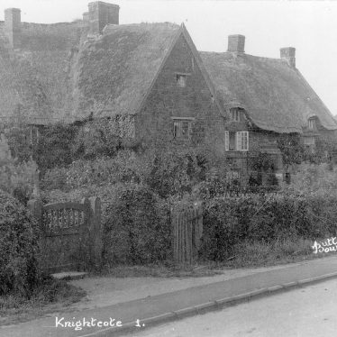 Knightcote.  Cottages