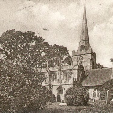 Lapworth.  St Mary's church