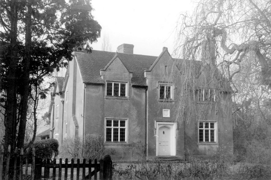 Bushwood Hall, Lapworth.  1920s |  IMAGE LOCATION: (Warwickshire County Record Office)