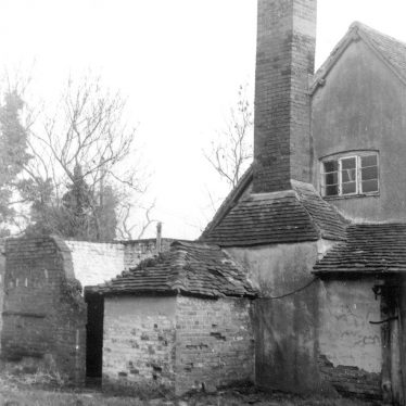 Lapworth.  Outbuildings at Bushwood Hall Farm