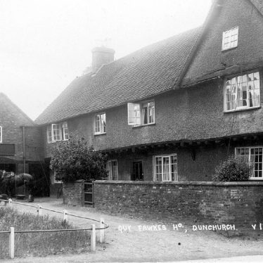 Dunchurch.  Guy Fawkes House