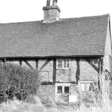 Lea Marston.  Haunch Cottage, rear view