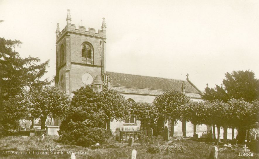 Exhall Parish Church, north side.  1901-5