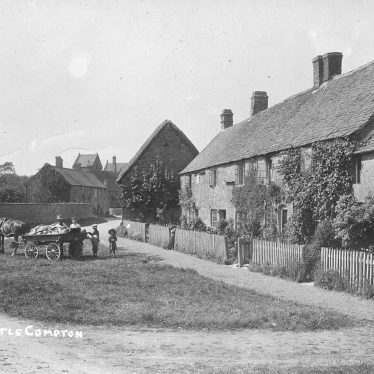 Little Compton.  Village view