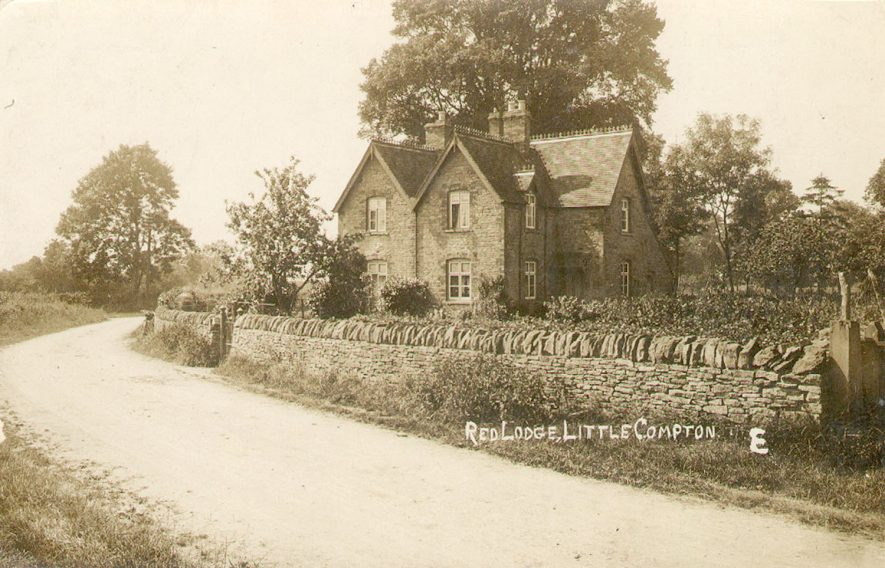 The Red Lodge, Little Compton.  1900s |  IMAGE LOCATION: (Warwickshire County Record Office)