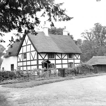 Ladbroke.  Timber framed house