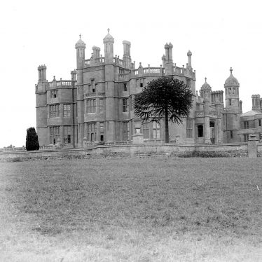 Long Compton.  Weston Hall