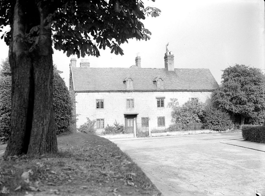 The Manor House, Lillington.  1937    IMAGE LOCATION: (Warwickshire County Record Office)