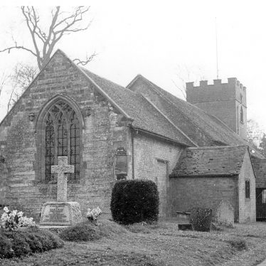 Moreton Morrell.  Parish church