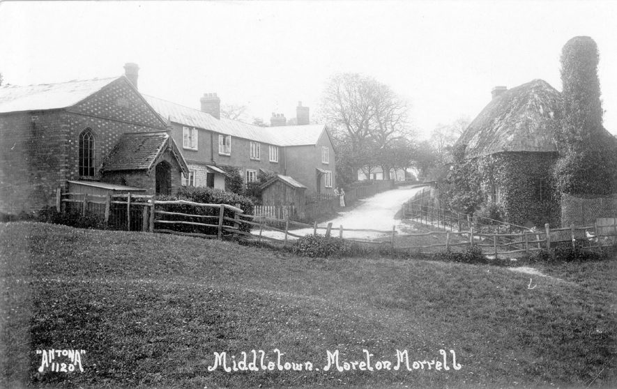 Middletown, Moreton Morrell.  1900s    IMAGE LOCATION: (Warwickshire County Record Office)