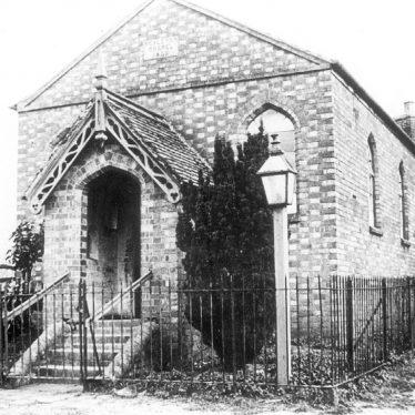 Moreton Morrell.  Wesleyan Chapel